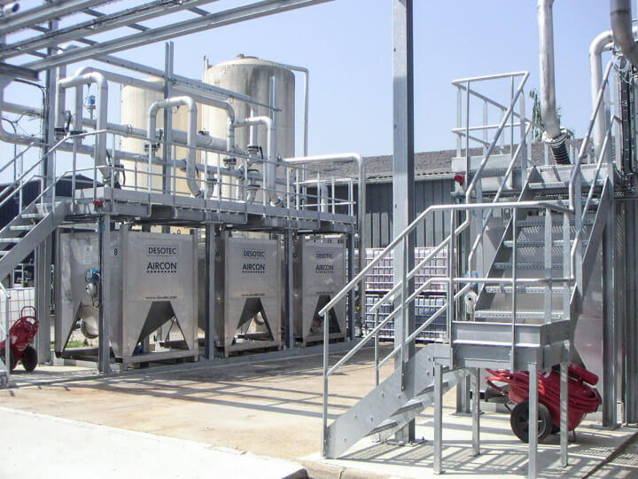 Activated charcoal safeguards ambient air from unpleasant H2S odour
