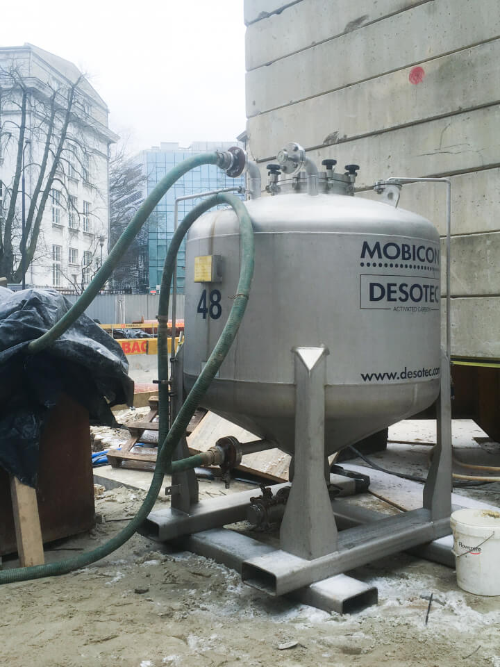 Mobicon 2000 for contaminated groundwater treatment