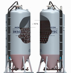 Activated carbon density