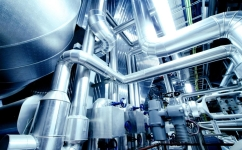 Industrial/chemical process purification systems