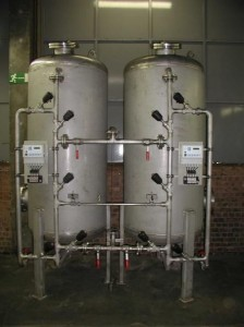 Dechlorination at a yoghurt factory